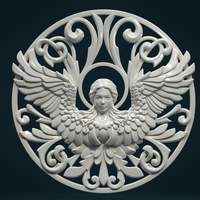 Small Angel relief II 3D Printing 278629