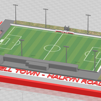 Small Holywell Town FC 3D Printing 278763