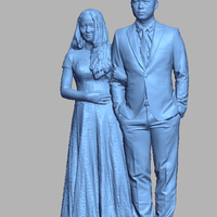 Small Vietnamese Happy Wedding 3D Printing 278970