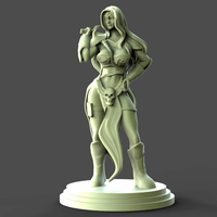 Small Girl and Sword Sculpture 3D Printing 279105
