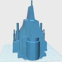 Small Elsa's Sand Castle Mold 3D Printing 27926