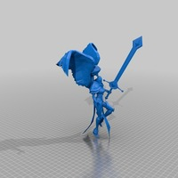 Small Leona – the Radiant Dawn 3D Printing 27943