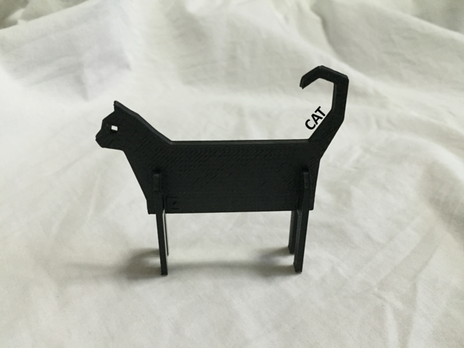 Simple Animals 11 - The Black 3D Print 27946