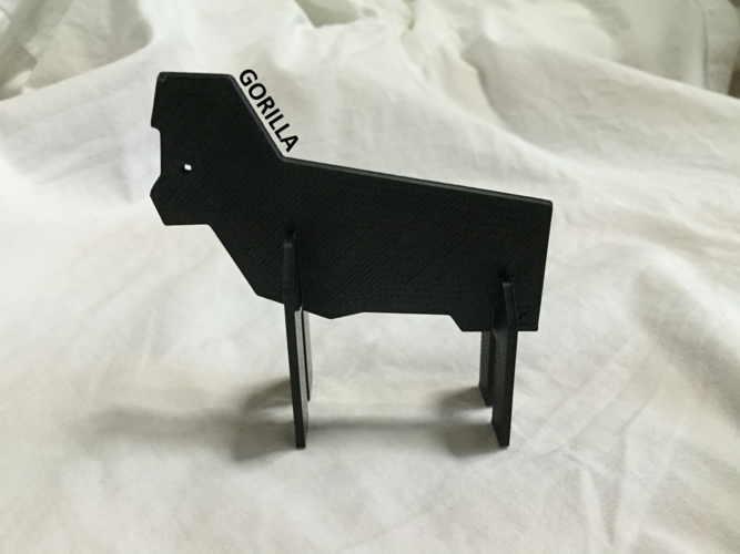 Simple Animals 11 - The Black 3D Print 27947