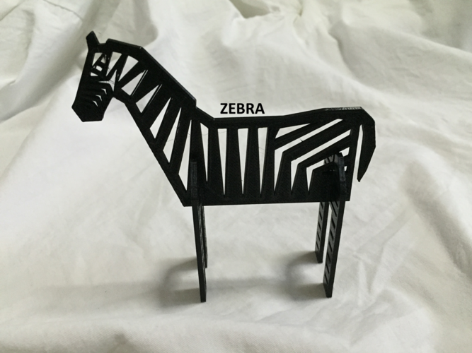 Simple Animals 11 - The Black 3D Print 27948