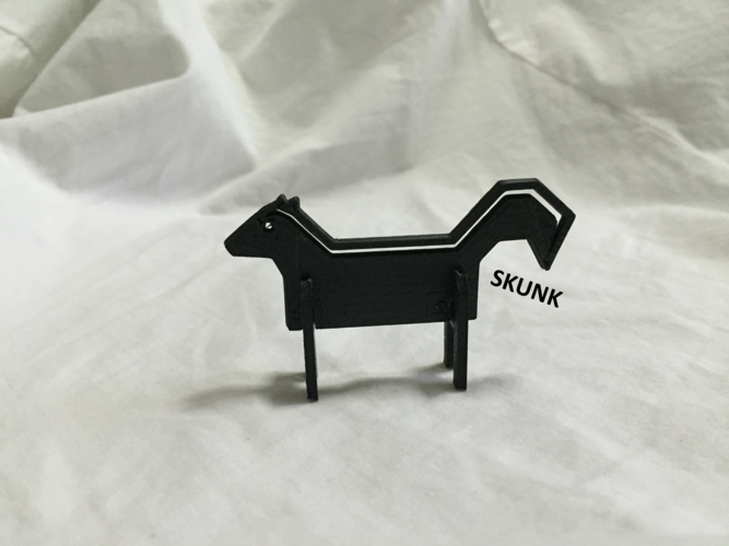 Simple Animals 11 - The Black 3D Print 27949