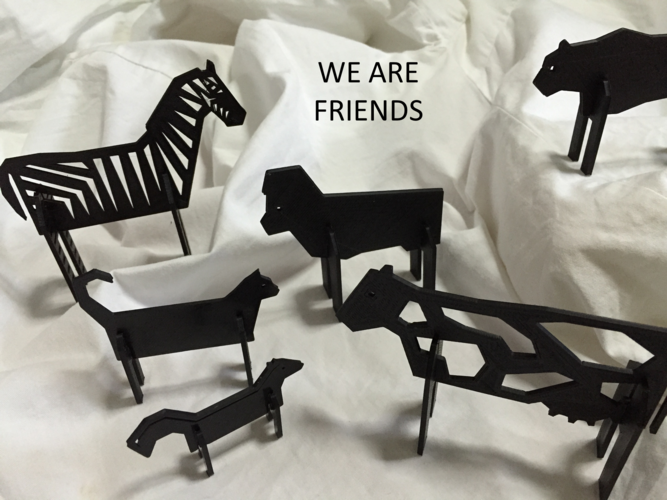 Simple Animals 11 - The Black 3D Print 27952