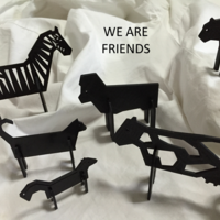 Small Simple Animals 11 - The Black 3D Printing 27952