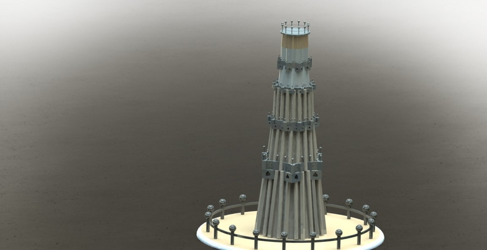 "QUTUB MINAR "" THE TALLEST INDIVIDUAL TOWER IN WORLD "" 3D Print 27956"