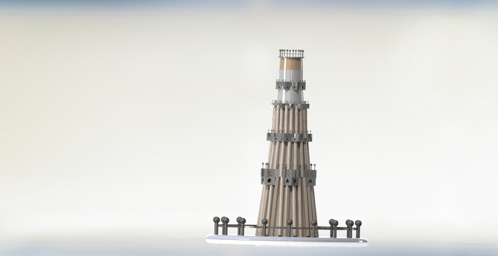 "QUTUB MINAR "" THE TALLEST INDIVIDUAL TOWER IN WORLD "" 3D Print 27957"