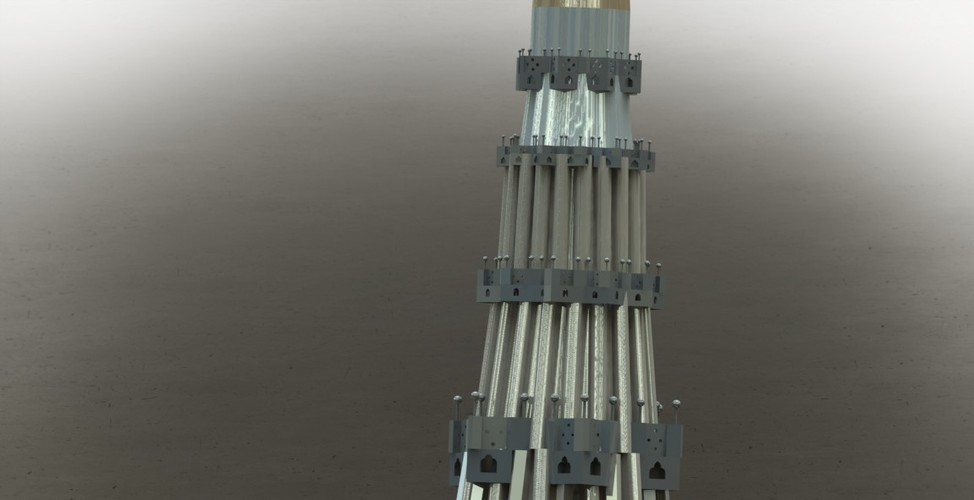 "QUTUB MINAR "" THE TALLEST INDIVIDUAL TOWER IN WORLD "" 3D Print 27959"