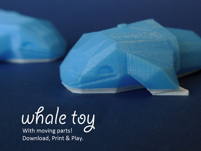 Whale Toy 3D Print 27971