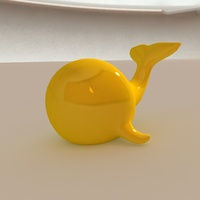 Small Whale Smartphone Holder 3D Printing 27973