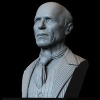 Small Ed Harris 3d printable bust 3D Printing 279732