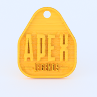 Small Apex Legends keychain 3D Printing 279888