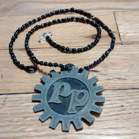 Small Proto Pasta Medallion in 2 Color Dual Extrusion 3D Printing 28001