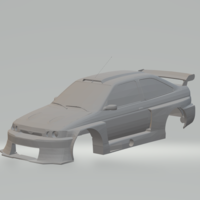 Small ford escort 95 race car need shift 3D Printing 280173