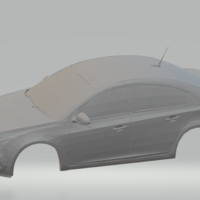 Small chevrolet cruze 2014 3D Printing 280261