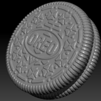 Small Oreo Sculpture 3D Printing 280421