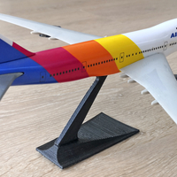 Small Slot Together Model Aircraft Stand 3D Printing 280427