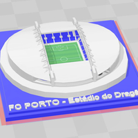 Small FC Porto - Estádio do Dragão 3D Printing 280586