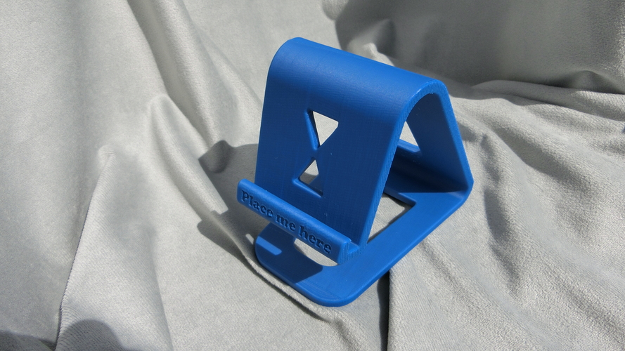 3d Printed Floating Phone Stand By Trhuster Pinshape