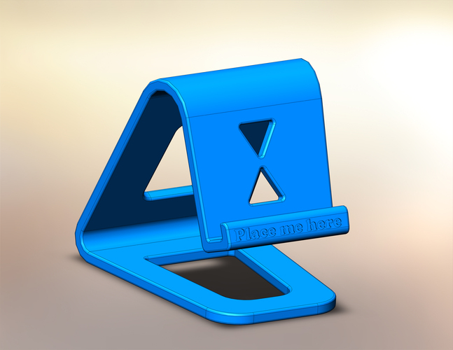 Floating Phone Stand 3D Print 28071