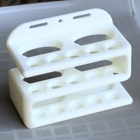 Small TOOTHBRUSH HOLDER wall 3D Printing 281054