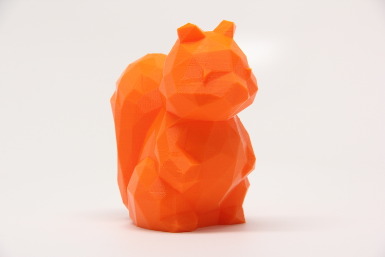 Low Poly Squirrel 3D Print 28106