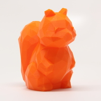 Small Low Poly Squirrel 3D Printing 28106
