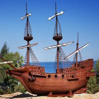 Small golden hind 3D Printing 28109