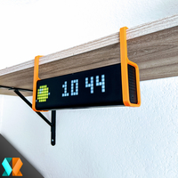 Small LAMETRIC TIME / SHELF STAND 3D Printing 281325