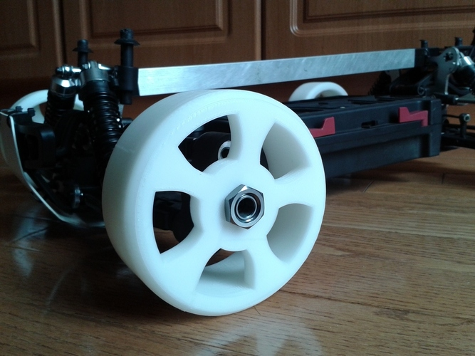 1/8th Scale RC Drift Tire - TT MT4 G3 3D Print 28143