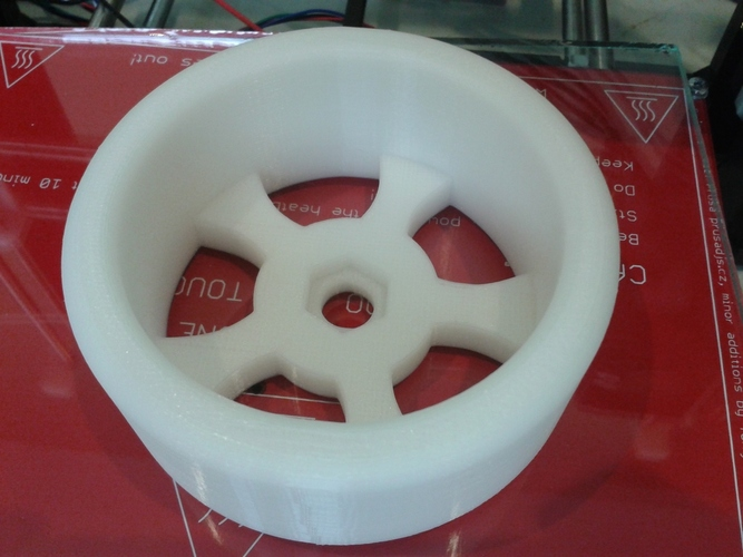 1/8th Scale RC Drift Tire - TT MT4 G3 3D Print 28144