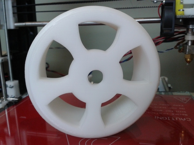 1/8th Scale RC Drift Tire - TT MT4 G3 3D Print 28145
