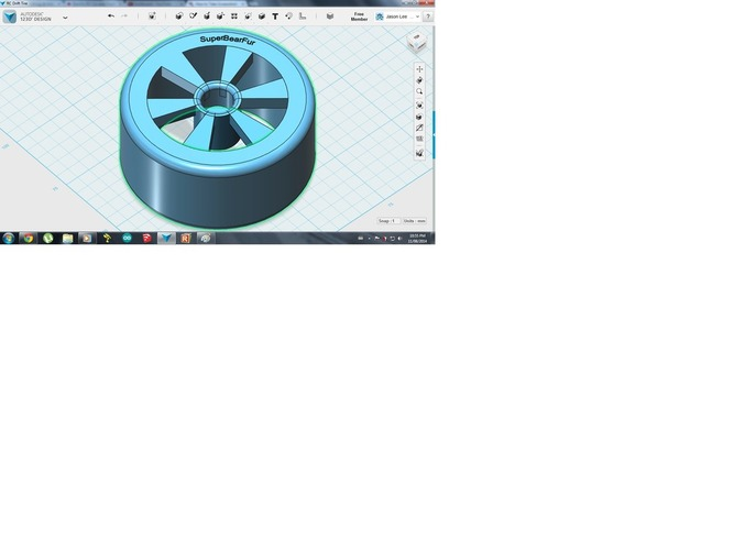 1/10 RC Drifting Wheel 3D Print 28147