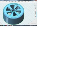 Small 1/10 RC Drifting Wheel 3D Printing 28147