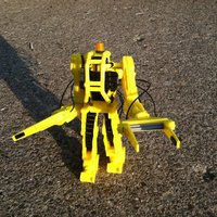 Small Power Loader 2 3D Printing 28165
