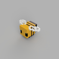 Small Minecraft Bee 3D Printing 281769