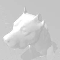 Small American staffordshire terrier 3D Printing 282051