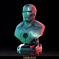 Small ironman bust - 3D print model 3D Printing 282618