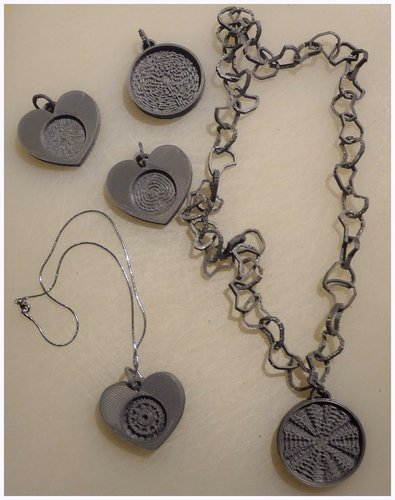 Mandala and Labyrinth pendants 3D Print 28267