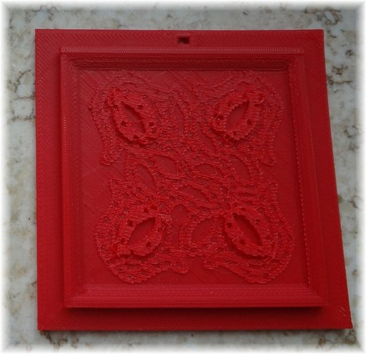 3D sculptures in a 3D picture frame 3D Print 28331
