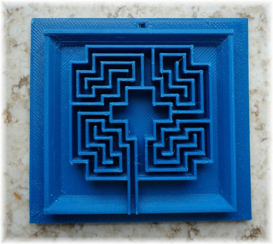 3D sculptures in a 3D picture frame 3D Print 28332