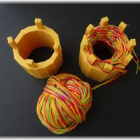 Small Knitting spools 3D Printing 28344