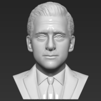Small Michael Scott The Office bust 3D printing ready stl obj formats 3D Printing 283446