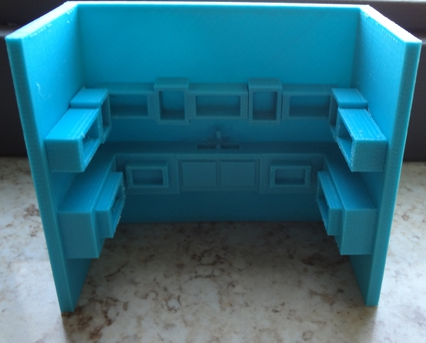 3D kitchen 3D Print 28347