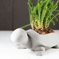 Small Turtle Planter 3D Printing 283493