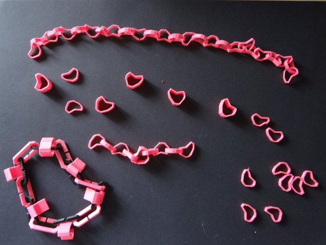 heart charms or hearticles 3D Print 28361