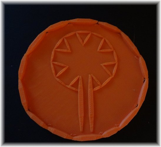 Rose of Chartres Saucer 3D Print 28370